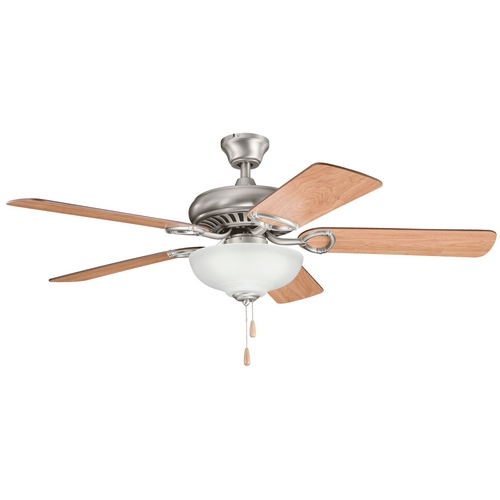 Kichler Lighting Kichler Ceiling Fan with Light Kit in Pewter Finish 339211AP