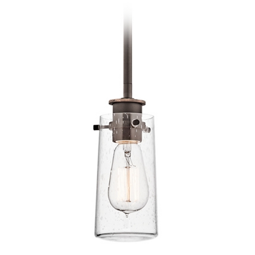 Kichler Lighting Kichler Mini-Pendant Light with Clear Glass 43060OZ