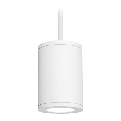 WAC Lighting 6-Inch White LED Tube Architectural Pendant 3500K 2440LM DS-PD06-N35-WT