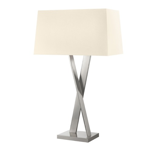 Sonneman Lighting Sonneman X Satin Nickel 2 Light Table Lamp   4660.13