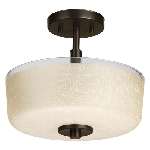 Progress Lighting Progress Lighting Alexa Antique Bronze Semi-Flushmount Light P2851-20