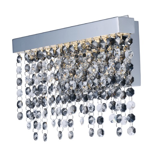 ET2 Lighting Midnight Shower Polished Chrome LED Sconce E23091-138PC