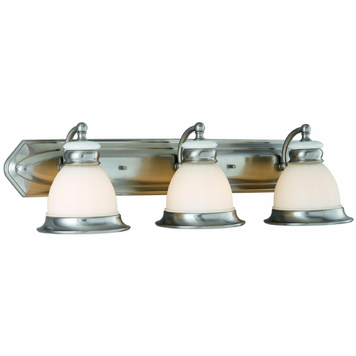 Lite Source Lighting Lite Source Lighting Carter Polished Steel Bathroom Light LS-16423PS/FRO
