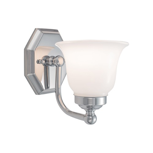 Norwell Lighting Norwell Lighting Trevi Chrome Sconce 8318-CH-DO