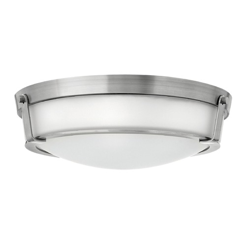 Hinkley Lighting Hinkley Lighting Hathaway Antique Nickel LED Flushmount Light 3226AN-LED