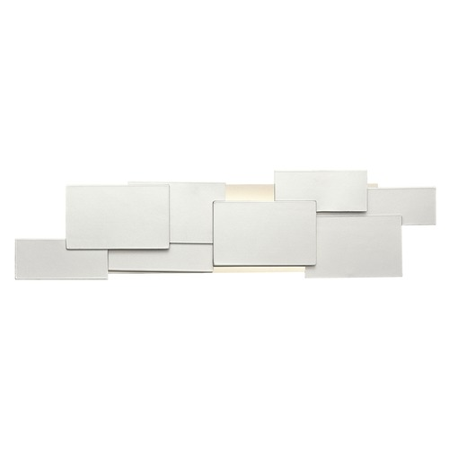 Elan Lighting Elan Lighting Kinslee Platinum (painted) Sconce 83535