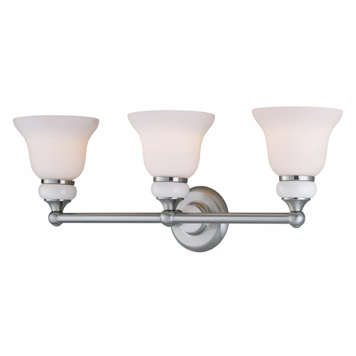 Lite Source Lighting Lite Source Lighting Princeton Polished Steel Bathroom Light LS-16403PS/FRO