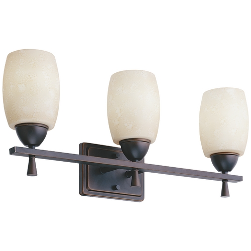 Lithonia Lighting Three-Light Bathroom Wall Light 11533-BZA