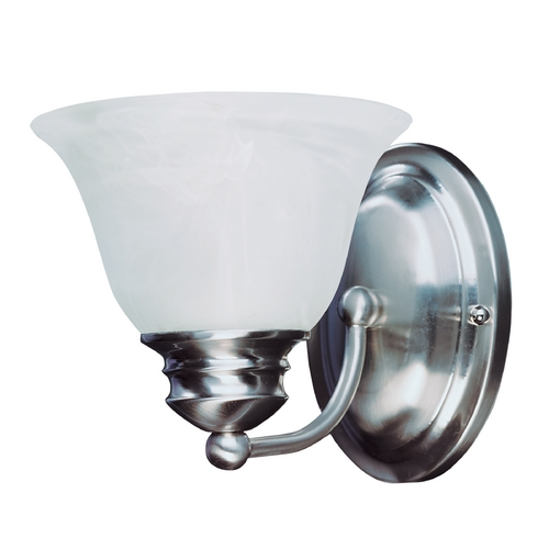 Maxim Lighting Maxim Lighting Malaga Satin Nickel Sconce 2686FTSN