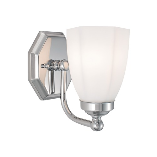 Norwell Lighting Norwell Lighting Trevi Chrome Sconce 8318-CH-HXO