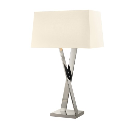 Sonneman Lighting Sonneman X Polished Nickel 2 Light Table Lamp 4660.35