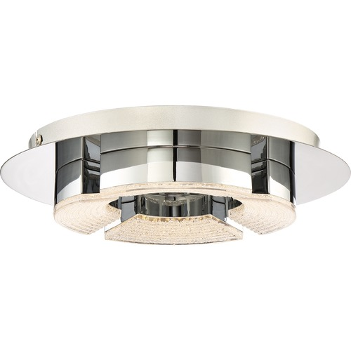 Quoizel Lighting Quoizel Lighting Platinum Lunette Polished Chrome LED Flushmount Light PCLT1612C