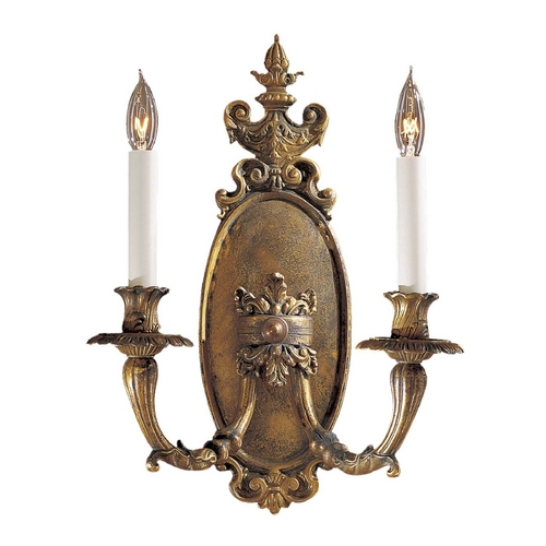 Metropolitan Lighting Sconce Wall Light in Antique Bronze Patina Finish N202102