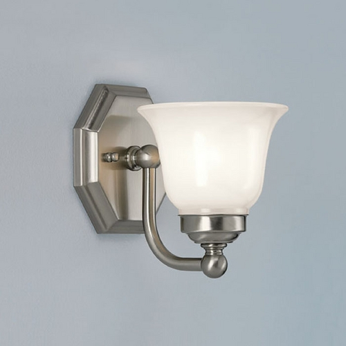 Norwell Lighting Norwell Lighting Trevi Brush Nickel Bathroom Light 8319-BN-DO