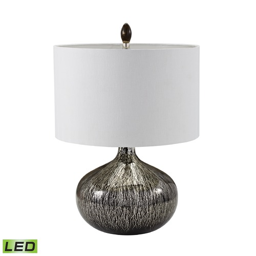 Dimond Lighting Dimond Lighting Black Mercury Drip LED Table Lamp with Drum Shade 983-001-LED