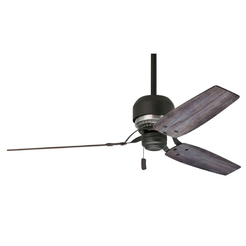 Casablanca Fan Co Casablanca Fan Co Tribeca Aged Steel Ceiling Fan Without Light 59498