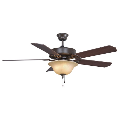 Fanimation Fans Fanimation Fans Aire Decor Oil-Rubbed Bronze Ceiling Fan with Light BP220OB1