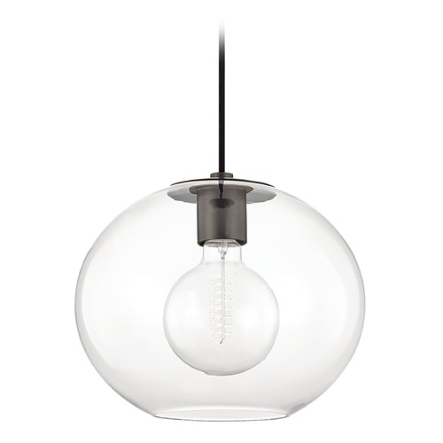 Mitzi by Hudson Valley Mitzi By Hudson Valley Margot Old Bronze Pendant Light with Globe Shade H270701L-OB