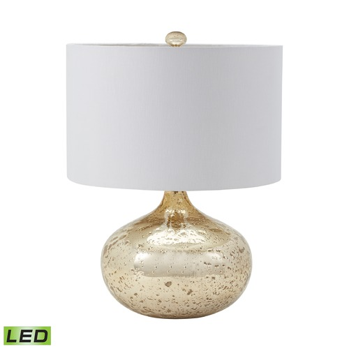 Dimond Lighting Dimond Lighting Gold Mercury LED Table Lamp with Drum Shade 983-002-LED