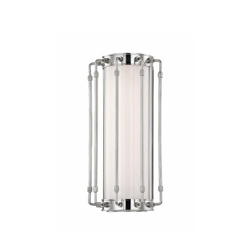 Hudson Valley Lighting Hyde Park Polished Nickel LED Bathroom Light 9712-PN