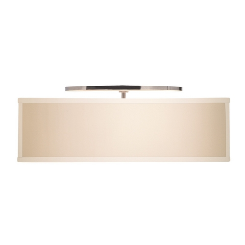 Tech Lighting Modern Semi-Flushmount Lights in Satin Nickel Finish 700TDCHAFMLCS-CF