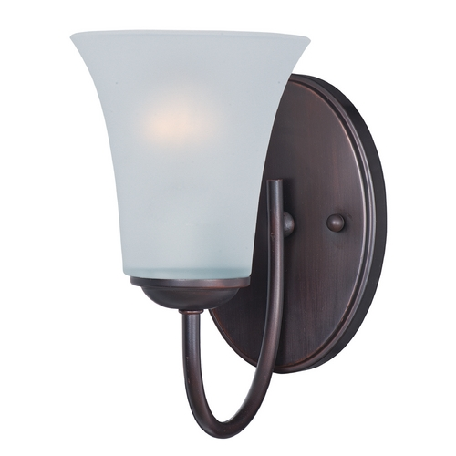 Maxim Lighting Maxim Lighting Logan Oil Rubbed Bronze Sconce 10051FTOI