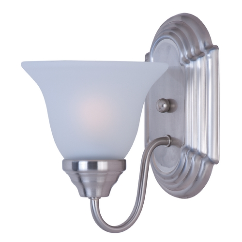 Maxim Lighting Maxim Lighting Essentials Satin Nickel Sconce 8011FTSN