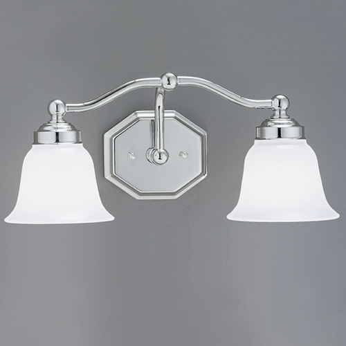 Norwell Lighting Norwell Lighting Trevi Chrome Bathroom Light 8319-CH-DO