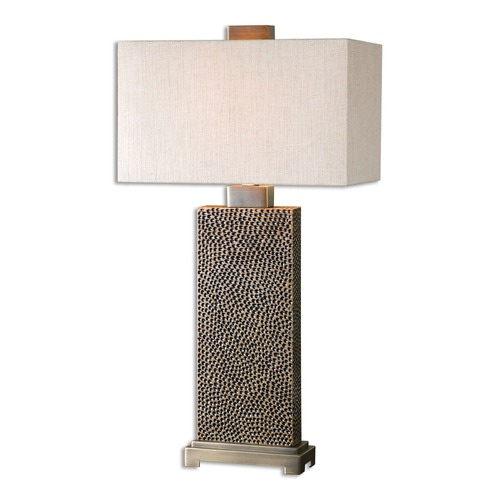 Uttermost Lighting Uttermost Canfield Coffee Bronze Table Lamp 26938-1