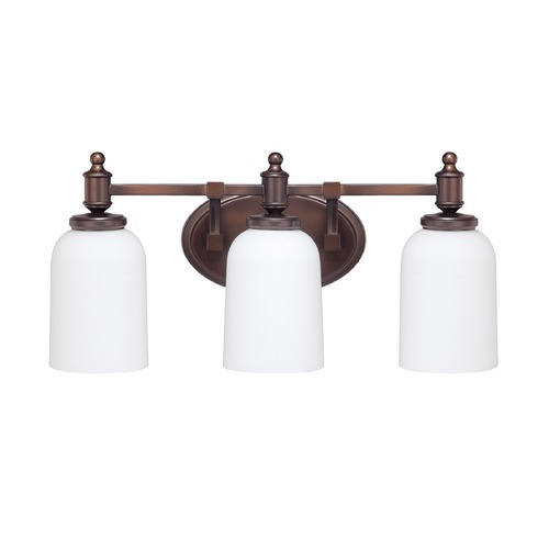 Capital Lighting Capital Lighting Covington Burnished Bronze Bathroom Light 8443BB-102