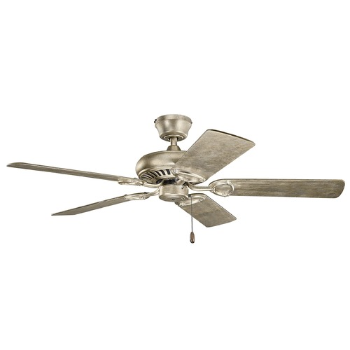 Kichler Lighting Kichler Lighting Sutter Place Sterling Gold Ceiling Fan Without Light 339011SGD