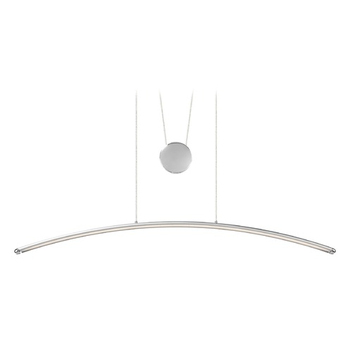 Elan Lighting Elan Lighting Sava Silver W/ Chrome LED Island Light 83448
