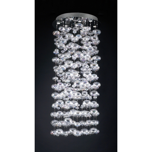 PLC Lighting Modern Multi-Light Pendant Light 12-Lights 96993 PC
