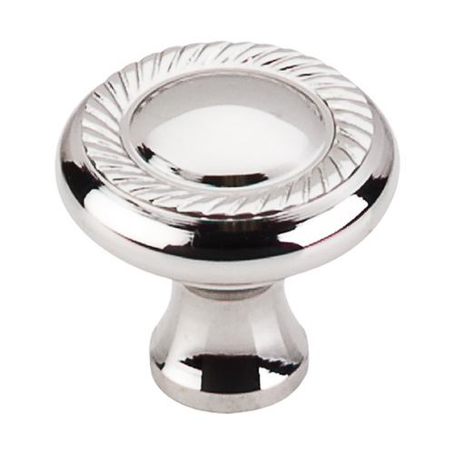 Top Knobs Hardware Cabinet Knob in Polished Nickel Finish M1585