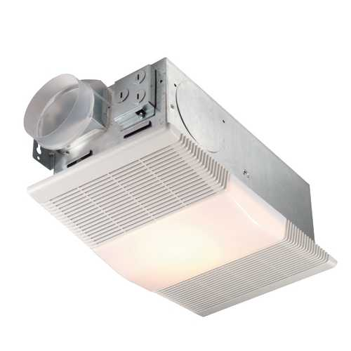 NuTone 70 CFM Ventilation Fan with Heater and Light UN 665RP (PREVIOUSLY 665N & P)