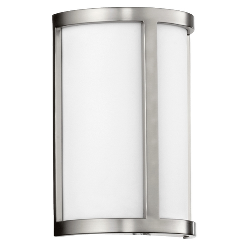 Quorum Lighting Quorum Lighting Omega Satin Nickel Sconce 5200-65