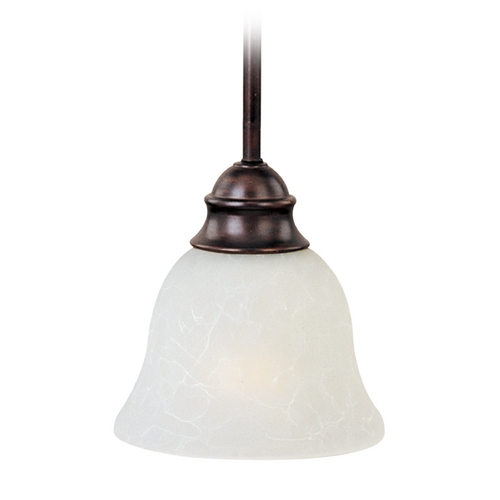 Maxim Lighting Maxim Lighting Linda Ee Oil Rubbed Bronze Mini-Pendant Light with Bell Shade 85004ICOI