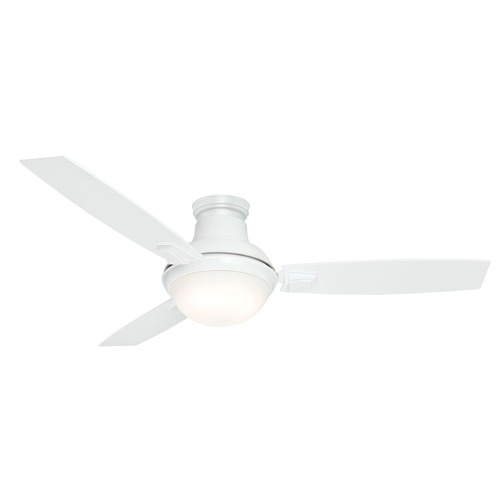 Casablanca Fan Co Casablanca Fan Verse White LED Convertible Ceiling Fan with Light 59153