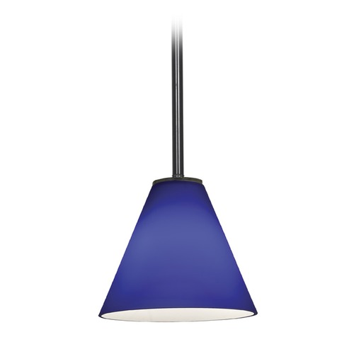 Access Lighting Access Lighting Martini Oil Rubbed Bronze LED Mini-Pendant Light with Conical Shade 28004-3R-ORB/COB