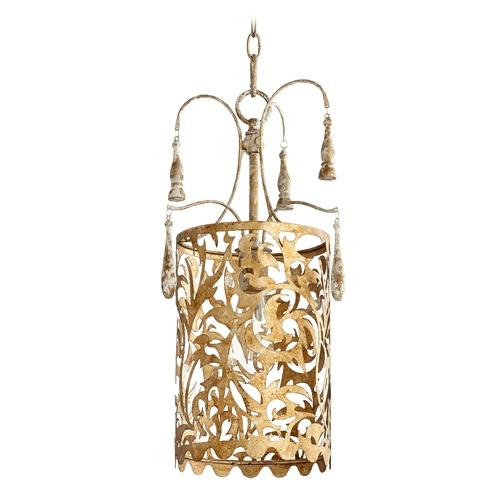 Quorum Lighting Quorum Lighting Leduc Florentine Gold Pendant Light 8355-61