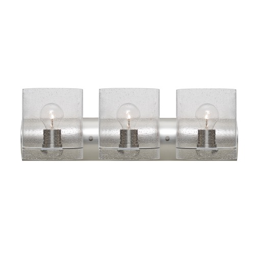 Besa Lighting Besa Lighting Celtic Satin Nickel Bathroom Light 3WZ-CELTICBB-SN