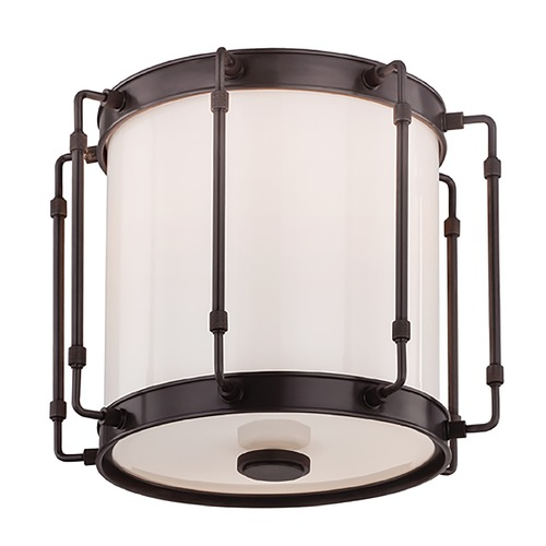 Hudson Valley Lighting Hudson Valley Lighting Hyde Park Old Bronze LED Flushmount Light 9713-OB