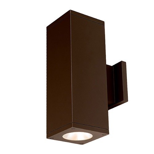 WAC Lighting Wac Lighting Cube Arch Bronze LED Outdoor Wall Light DC-WD05-F840B-BZ