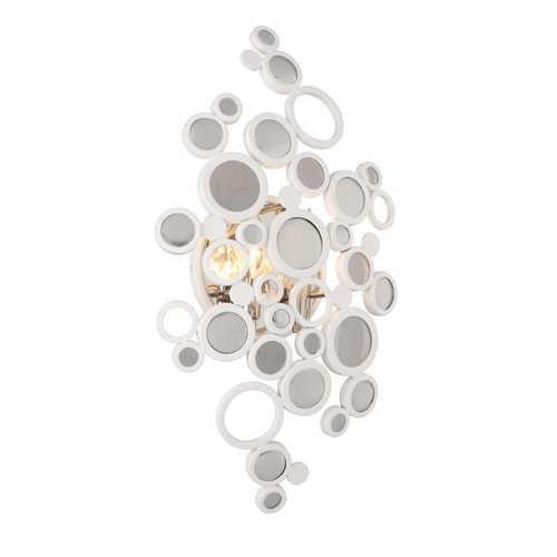 Corbett Lighting Art Deco Sconce White Fathom by Corbett Lighting 187-12