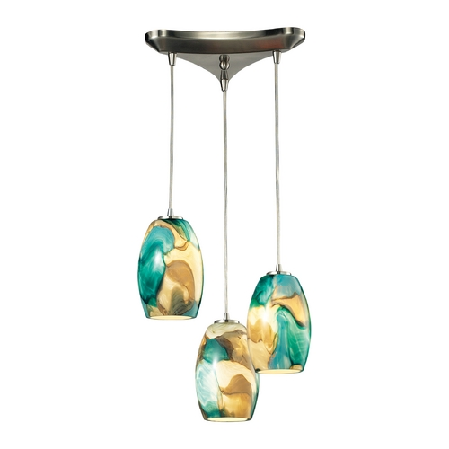 Elk Lighting Multi-Light Pendant Light 3-Lights 31539/3CG