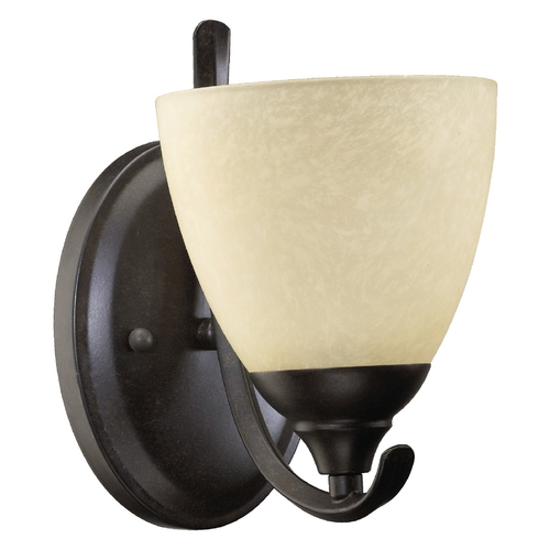 Quorum Lighting Quorum Lighting Powell Toasted Sienna Sconce 5508-1-44