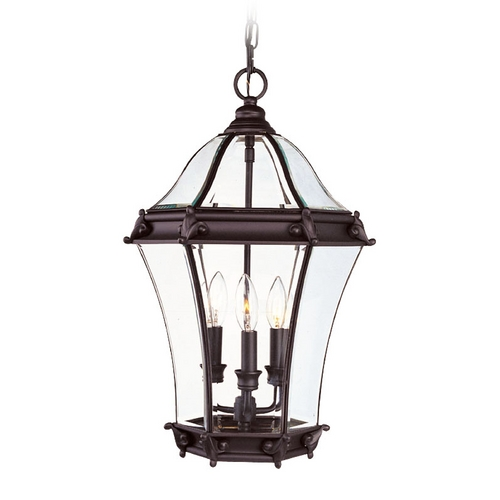 Livex Lighting Livex Lighting Fleur De Lis Bronze Outdoor Hanging Light 2625-07