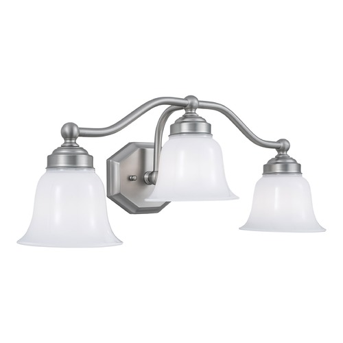 Norwell Lighting Norwell Lighting Trevi Brush Nickel Bathroom Light 8320L-BN-DO