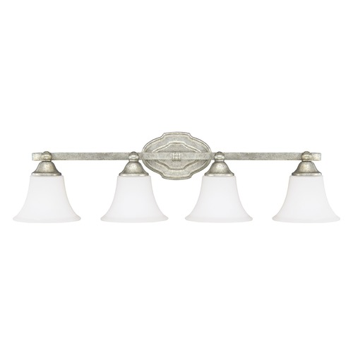 Capital Lighting Capital Lighting Blakely Antique Silver Bathroom Light 8524AS-114