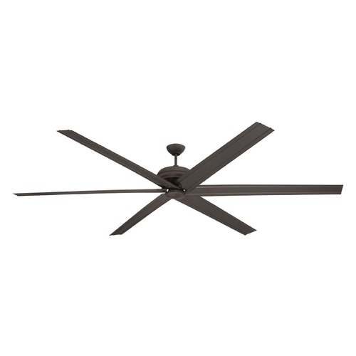 Craftmade Lighting Craftmade Lighting Colossus Espresso Ceiling Fan Without Light COL96ESP6
